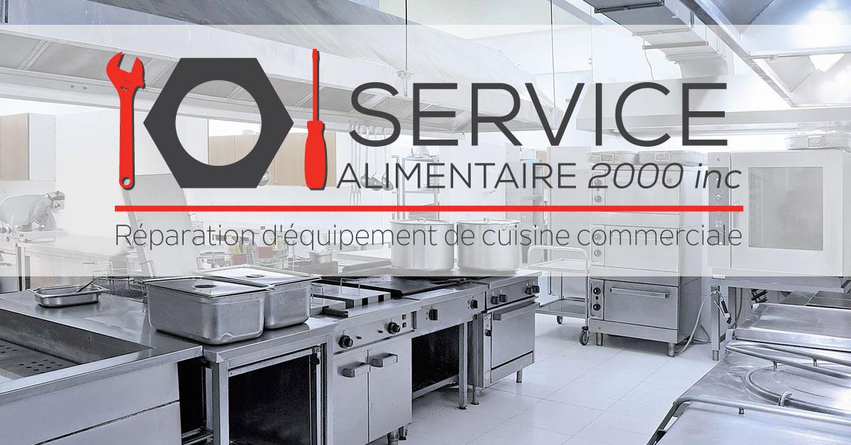 Service alimentaire 2000 r paration d quipements de cuisine for Cuisine 2000